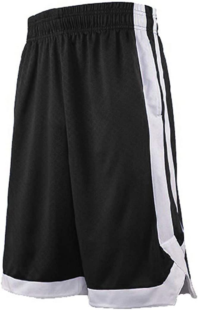 TOPTIE 2-Tone New Orleans 2021 Mall Basketball Shorts for Pocket Pockets Men Tra with