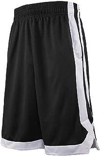 TOPTIE 2-Tone Basketball Shorts for Men with Pockets, Pocket Training Shorts