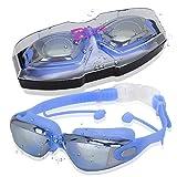 Gafas de Natación | Gafas para Nadar Antigoteo Antiniebla Y Protección UV | Gafas Natación para Hombres Mujer Adultos Jóvenes Niños