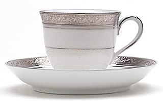 Noritake Crestwood Platinum Teacup and Saucer