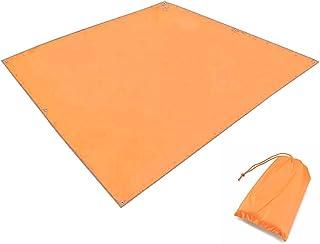 TRIWONDER タープ グランドシート 防水軽量 天幕 テントシート キャンプマット ブルーシート 収納袋付き