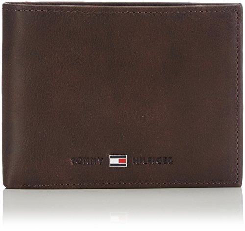 Tommy Hilfiger Herren Johnson CC and Coin Pocket Mappe, Braun (Brown 041), 14x10x2 cm (B x H x T)