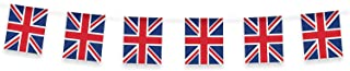 Gifts 4 All Occasions Limited SHATCHI 33ft Long Britain Union Jack Bunting Garland Banner Street Party Decorations 20 Flag...