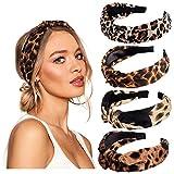 vamei Haarreif Damen Breit Stirnband Damen Vintage Haarband Damen Knoten Bandana Kopfband Turban Mädchen Haarreifen Damen Stirnbänder Haarschmuck