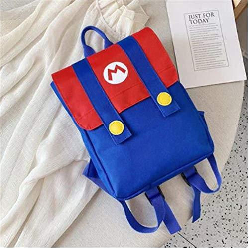 Mario rugzak outfit - kinderen - kinderrugzak - rugtas - tas - schooltas - 30x22 cm (lxb)