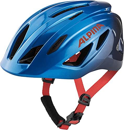 ALPINA Unisex - Kinder, PICO Fahrradhelm, true blue gloss, 50-55 cm