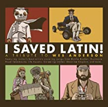 I Saved Latin! A Tribute to Wes Anderson Translucent Gold/Translucent
