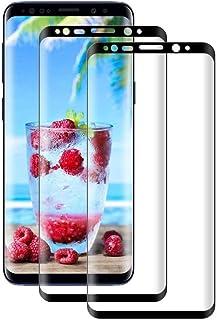 Galaxy Note9 ガラスフィルム SC-01L SCV40 液晶保護フィルム【2枚セット】Galaxy Note9 SC-01L SCV40 3D曲面 全面保護フィルム【日本製素材旭硝子製】最高硬度9H/高透過率99.9%/3D Tou...