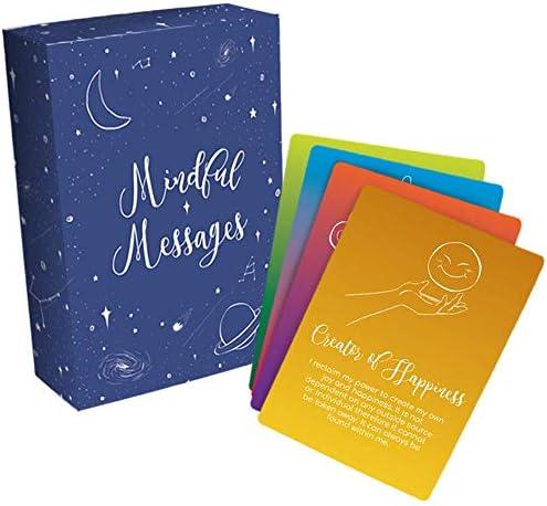 Mindful Messages Positive Affirmations Meditation Cards product image