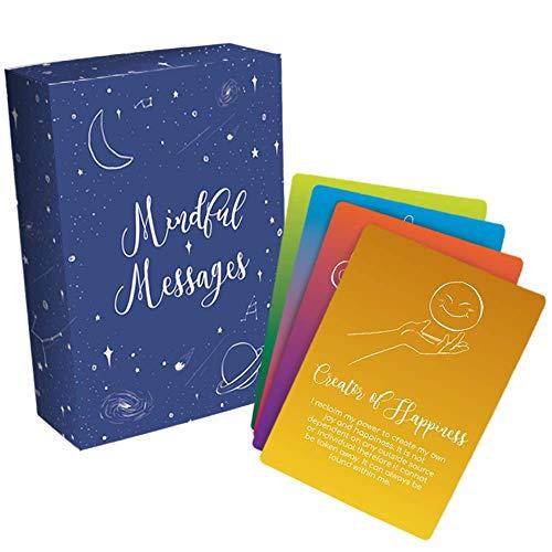 Mindful Messages Positive Affirmations Meditation Cards