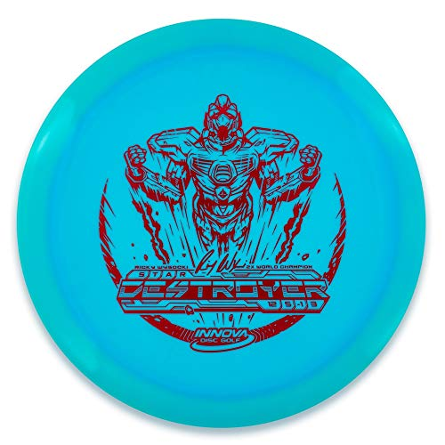 INNOVA Ricky Wysocki 2X Sockibot Stamp Star Destroyer Distance Driver Golf Disc [Colors May Vary] - 173-175g