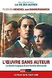 L'oeuvre sans auteur (French Edition)
