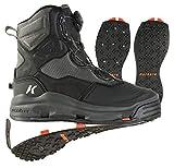 Korkers Men's FB4720 Athletic-Water-Shoes, 12