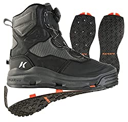 top rated Fishing boots with clinker sole and rivet sole Korkers Mens Darkhorse Color:… 2021