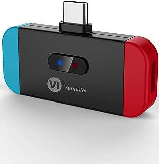 VantInter 充電不要ドライバー不要 Nintendo Switch bluetooth オーディオアダプター USB-C Bluetooth トランスミッター 2台同時接続でも aptX LL BT4879