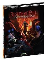 Resident Evil Operation Raccoon City Signature Series Guide de BradyGames