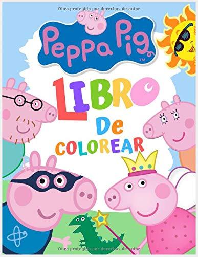 Peppa pig Libro de colorear: Un libro para colorear Fun Kid para niños y niños pequeños (no oficial)