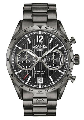 Roamer Reloj Analógico para Hombre de Cuarzo con Correa en Acero Inoxidable 510902 45 54 50