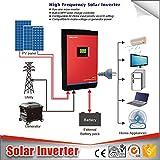 Inverter Onda Pura Hibrido Inverter Solare 3KVA 24V 50Amp 3in...