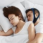 Dispositifs Anti Ronflements, Solution Anti Ronflements Réglable Mentonnière Snore Stopper pour Aide Sommeil Réduction Ronflement Mentonnière for Hommes Femmes #1
