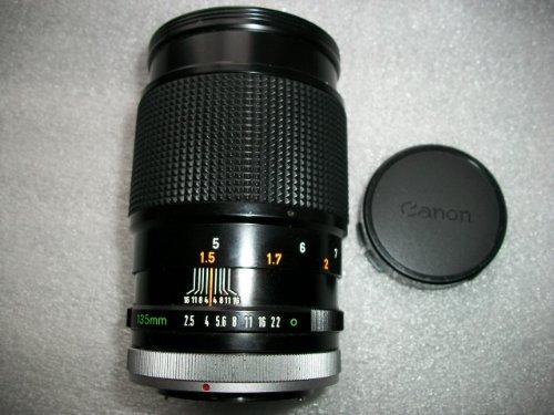 Canon FD 135mm f2.5