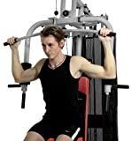 Christopeit Multistation Fitness-Station SP 20 XL, schwarz/weiß/rot, 145 x 115 x 200 cm, 1386 - 4