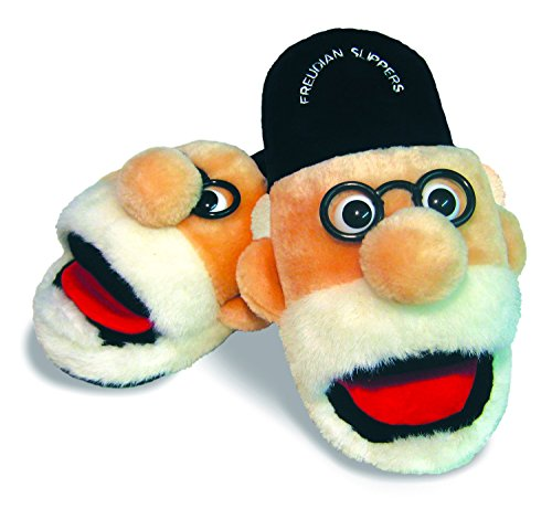 The Unemployed Philosophers Guild Freudian Slippers - Comfy Pluche Instappers Schoeisel - Size Medium