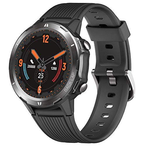 """Smart Watch Fitness Tracker,Smart Watch for Android Phones,All-Day Activity Tracker with Heart Rate Sleep Monitor 5ATM Waterproof 1.3"""" Touch Screen Step Counter for Men Women Sport"""