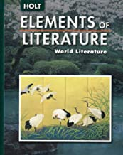 elements of literature english textbook