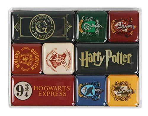 Harry Potter Magnetische Magnete, Mehrfarbig, Einheitsgröße