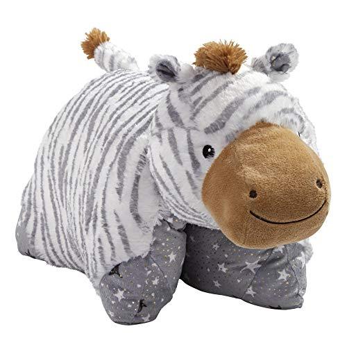 pillow pets pet toys Pillow Pets Naturally Comfy Zebra Stuffed Animal Plush Toy