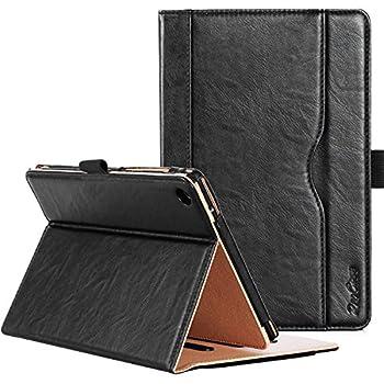 ProCase ASUS ZenPad S 8.0 Z580C Case  2015 ZenPad Z580C,Z580CA  - Stand Cover Folio Case for ASUS ZenPad S 8.0 Z580C Multiple Viewing Angles Document Card Pocket  Black