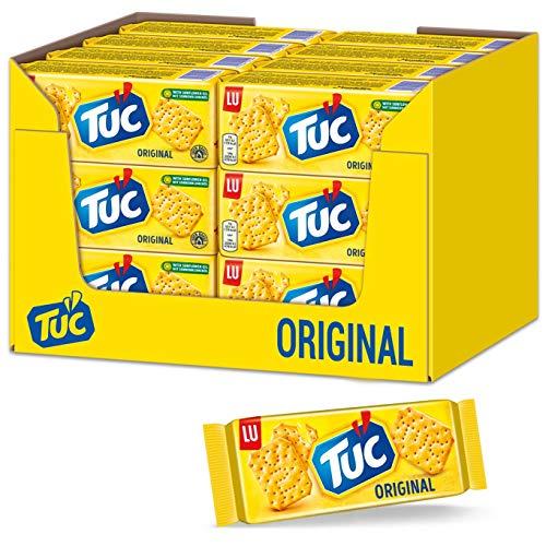 TUC Original - Fein gesalzenes Knabbergebäck - 24 x 100g