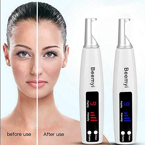 Muttermal Entfernen Stift Laser Pen Mole Removal Pen Picosekunden Pico Professioneller Haut Schönheits Maschine Entfernung Warzen Nävus Tattoo Pigment für Gesicht und Körper Blaulicht
