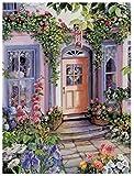 Diy 5D Diamante Pintura Diamante Bordado Flor Ventana Decoración Mosaico Imagen Muebles Decoración Regalo De Navidad 30X30Cm