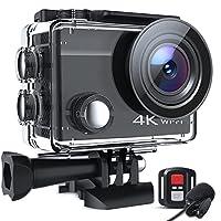 ★4K 20MP Ultra HD Action Cam★: Professionelles 4K/30fps-Video und 20MP-Bild, Ihre Crosstour Action Cam kann jedes Detail Ihrer wunderbaren Outdoor-Abenteuer einfangen und beeindruckende Aufnahmen von Ihnen und Ihrer Welt präsentieren. Lassen Sie die ...