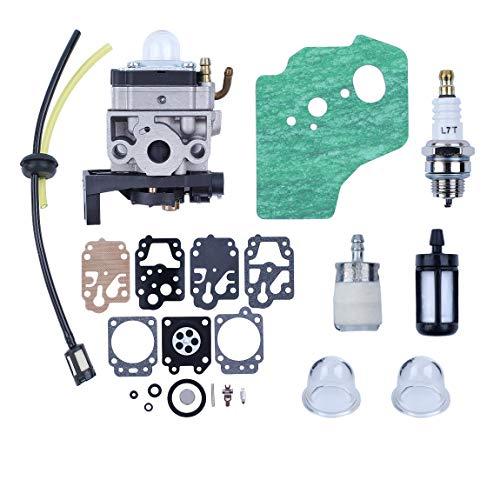Haishine Carburatore Carb Guarnizione Diaphargm Kit per Honda GX35 HHT35 HHT35S Motore Trimmers Decespugliatore Pompa Acqua Generatore