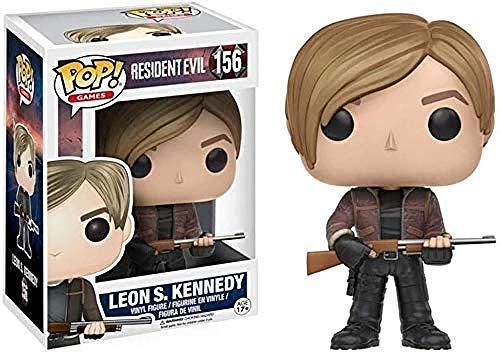 A-Generic Resident Evil - Pop de Leon Scott Kennedy Coleccionable Alrededor del Juego 10CM 8bayfa