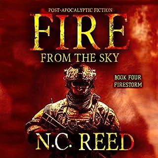 Fire from the sky: Firestorm cover art