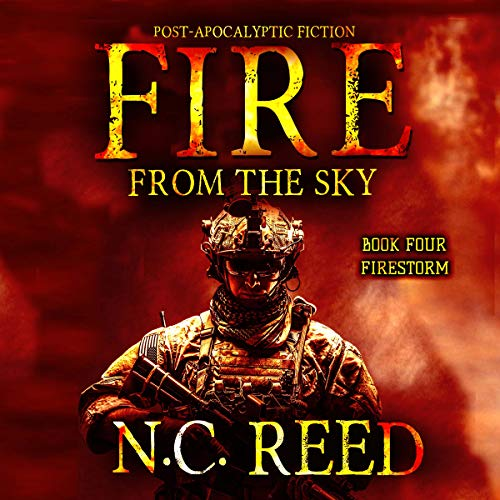 Fire from the sky: Firestorm audiobook cover art