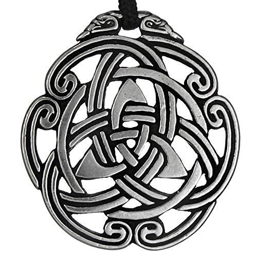 Pewter Celtic Peace Knot Triskelion Pendant