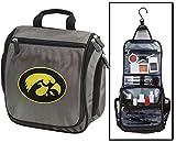 University of Iowa Toiletry Bags or Mens Shaving Kits HANGABLE Travel Bag