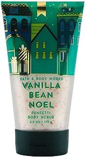 Bath & Body Works Vanilla Bean Noel Funfetti Body Scrub, 6.2 Ounce
