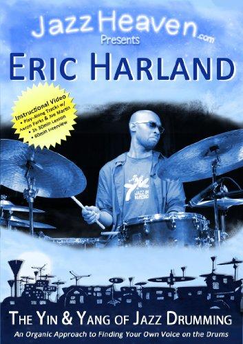 Jazz Schlagzeug Stunde Lehr-DVD Eric Harland The Yin and Yang of Jazz Drumming Lernen Unterricht Video JazzHeaven Schlagzeugschule Schlagzeug-Schule Lehr-DVD für Schlagzeug