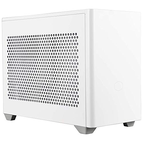 Cooler Master MasterBox NR200 Mini Computer Case ITX - Chassis Compatto in Acciaio SGCC, Opzioni di Raffreddamento Versatili, Accessibilità a 360 Gradi Senza Attrezzi, NR200 Bianco(Blanc)