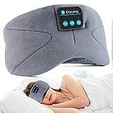 WU-MINGLU Bluetooth Eye Mask Sleep Headphones, Wireless Music Sleep Mask Noise Cancelling Sleeping Headphone Comfy & Washable Perfect for Side Sleepers(2021 Version)