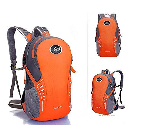 Extérieur élégant portable sac à dos sac à dos sac à dos de vélo , orange