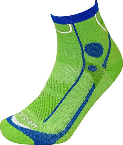 Lorpen Chaussettes de course à pied légères T3 pour homme, taille L, vert citron