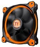 ThermalTake RIING 12 LED Orange 120X120X25 White LED LNC, CL-F038-PL12OR-A (120X120X25 White LED LNC)