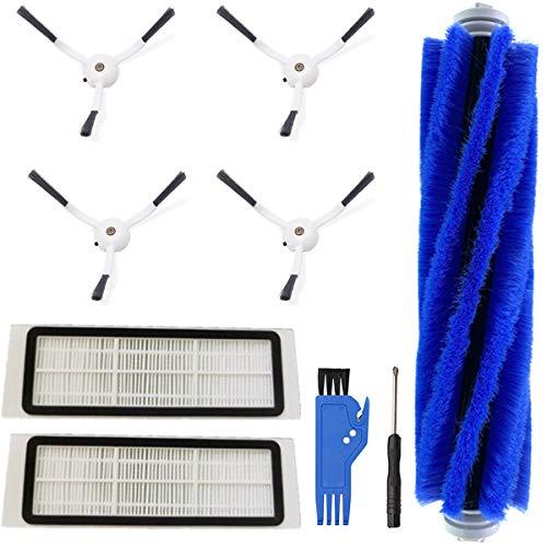 Paquete de 27 cepillos Laterales, fliters, Filtro primario, Herramienta de Limpieza QAQGEAR Kit de Piezas de Repuesto para aspiradora para ILIFE V5s Pro V5s V5 V3s Pro V3s